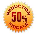Réduction fiscale 50%